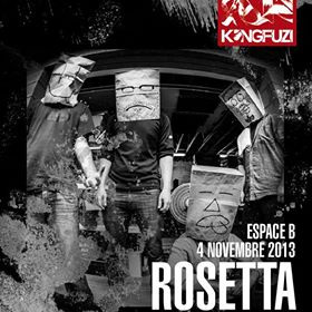 4 Novembre 2013 - ROSETTA + DIRGE - Paris - Espace B - Post-Metal